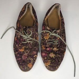 Forever21 floral shoes